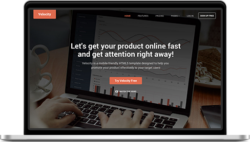 Responsive HTML5 Website Template