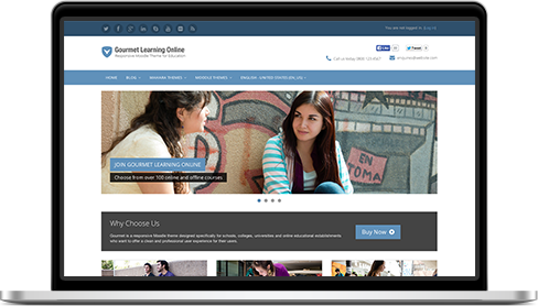 Education LMS Theme